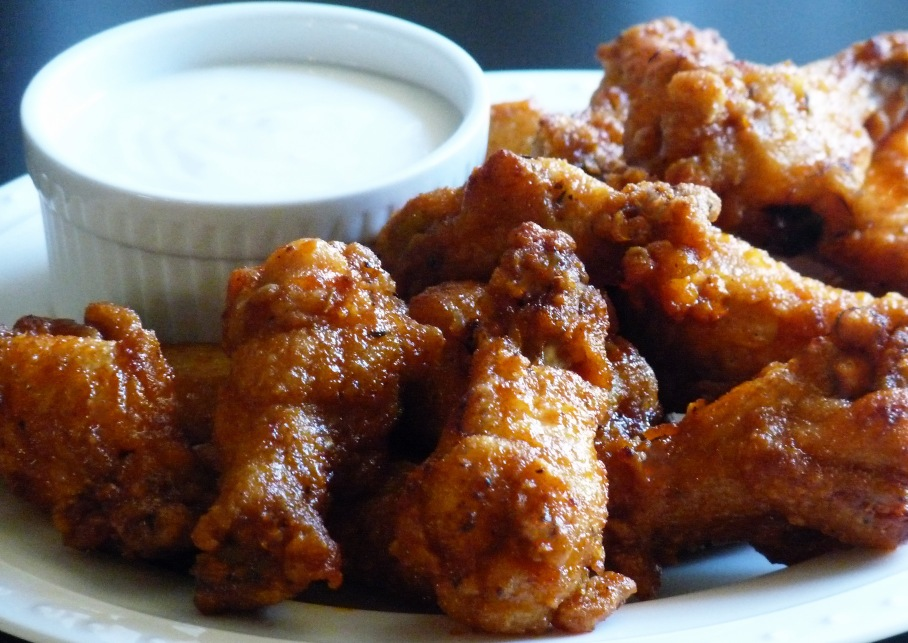Spicy Honey Hot Wings