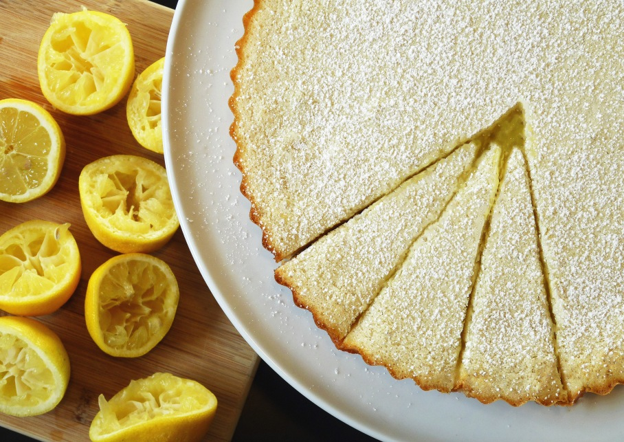 Lemon Shortbread Tart