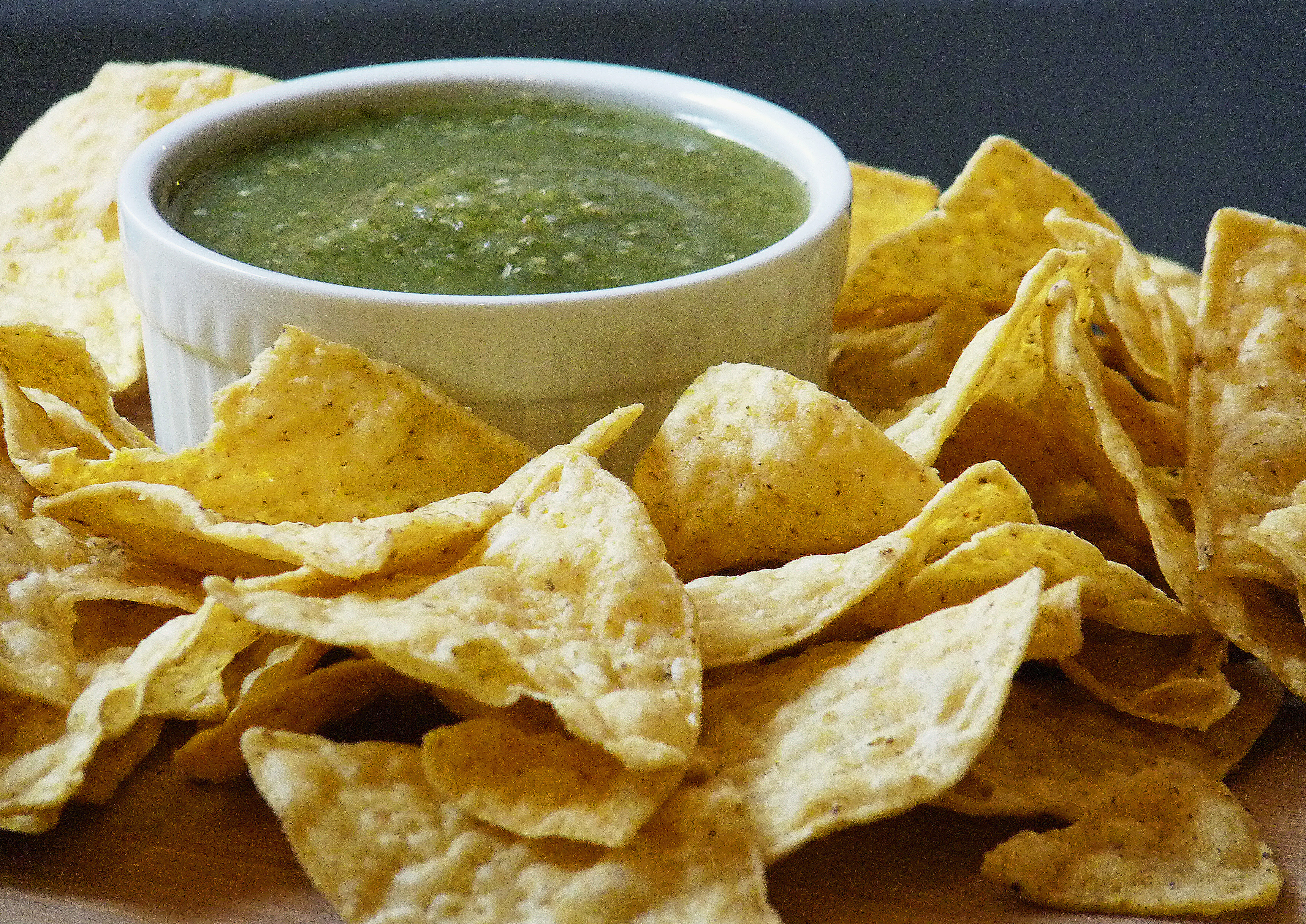 Tomatillo Salsa Verde | The Baking Goddess