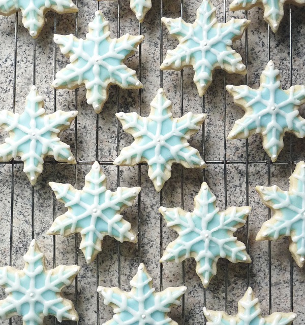 Sugar Snowflake Cookies copy